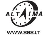 Prekybos centras VCUP Altaima logotipas