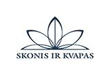 Prekybos centras VCUP Skonis ir kvapas logotipas