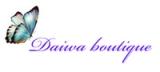 Prekybos centras VCUP Daiwa boutique logotipas