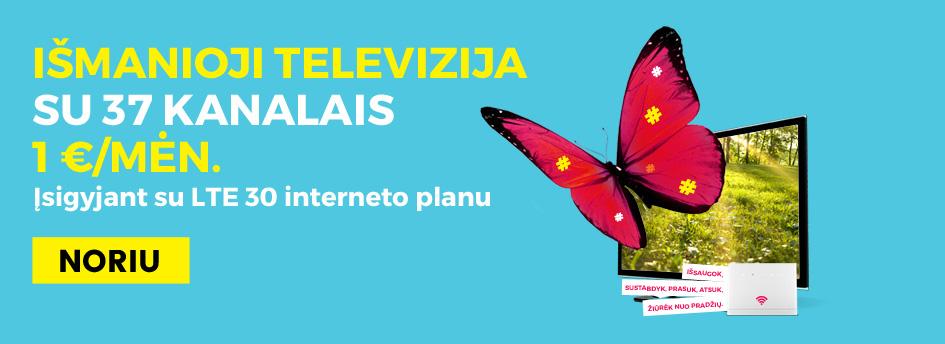 Prekybos centras VCUP_ismanijoji televizija_