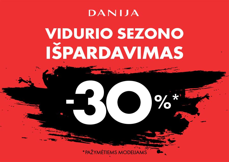 Prekybos centras VCUP_DANIJA_vidurio sezono ispardavimas_t