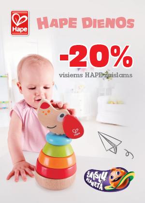 Prekybos centras VCUP_Žaislų_planeta_hape dienos