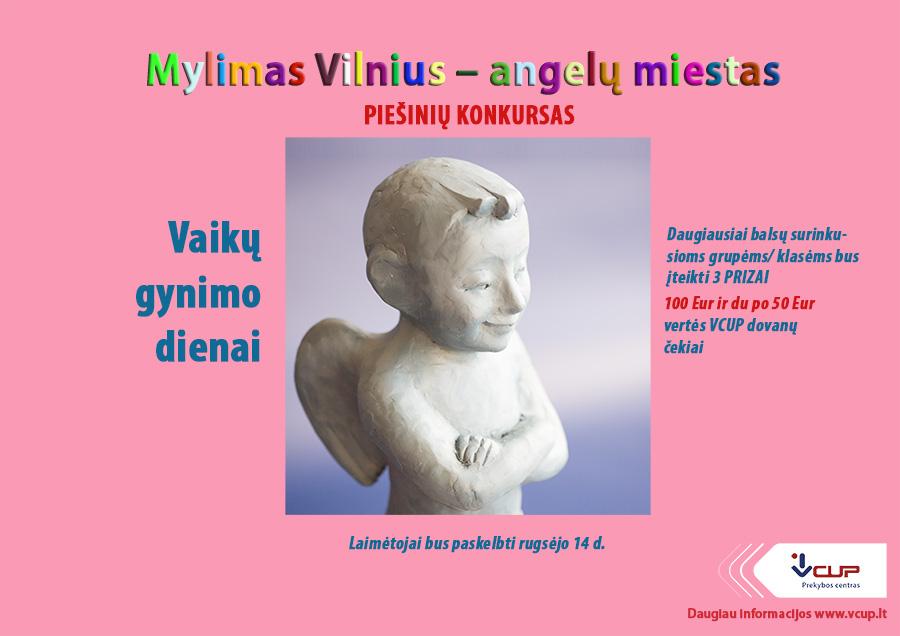 Prekybos centras vcup_Prekybos centars Vilniuje_Piesiniu konkursas_