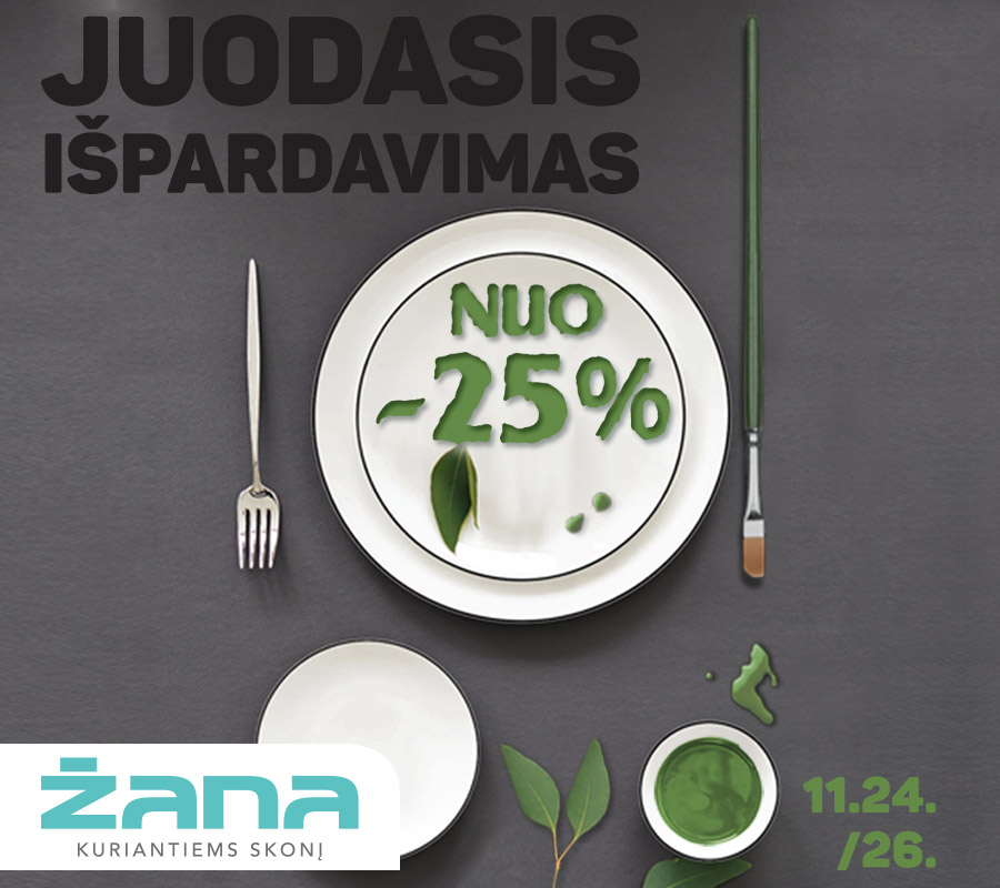 Prekybos centras VCUP_Žana_juodasis_išpardavimas_