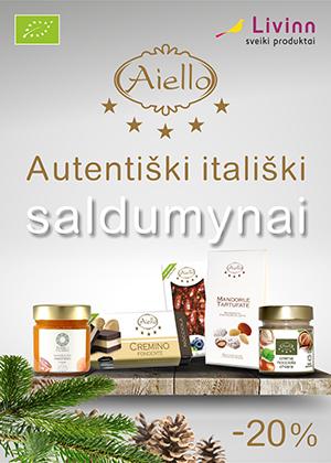 Prekybos centras VCUP-_Livinn_Autentiski italiski saldumynai