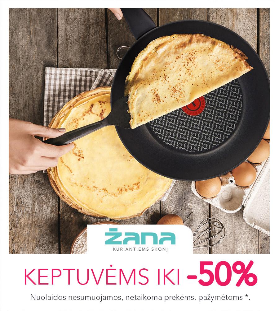 Prekybos centras VCUP_Zana_Uzgavenes_Nuolaida 50