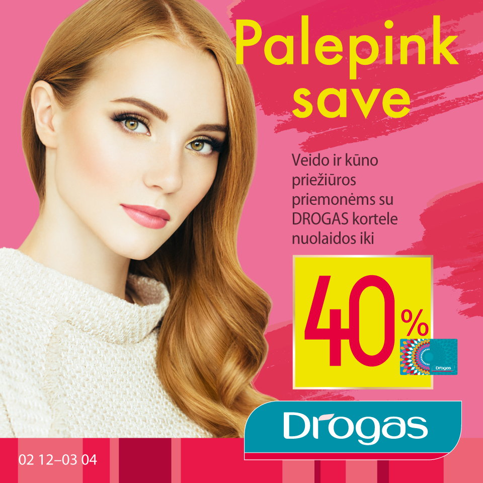 Prekybos centras VCUP_palepink save_Drogas_t