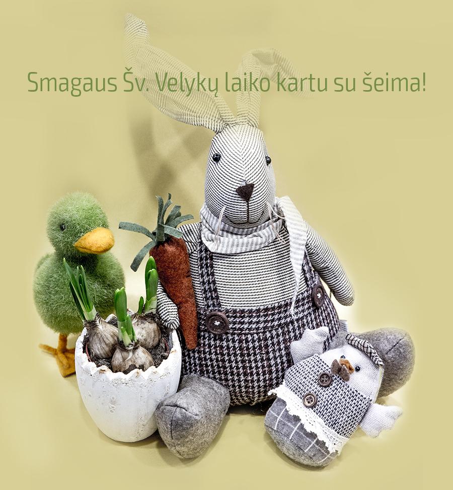 Prekybos centras VCUP_Smagaus sv_Velyku laiko kartu su seima