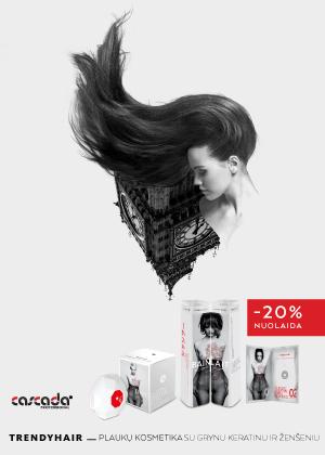 Prekybos centras VCUP_Trendy Hair akcija_Cascada