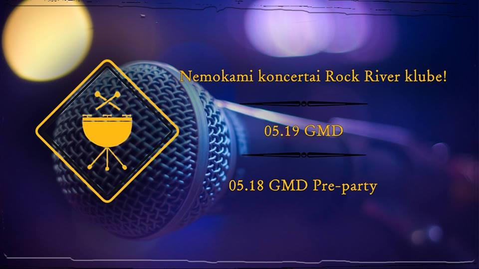 Prekybos centras VCUP_Rock river club_Nemokami koncertai
