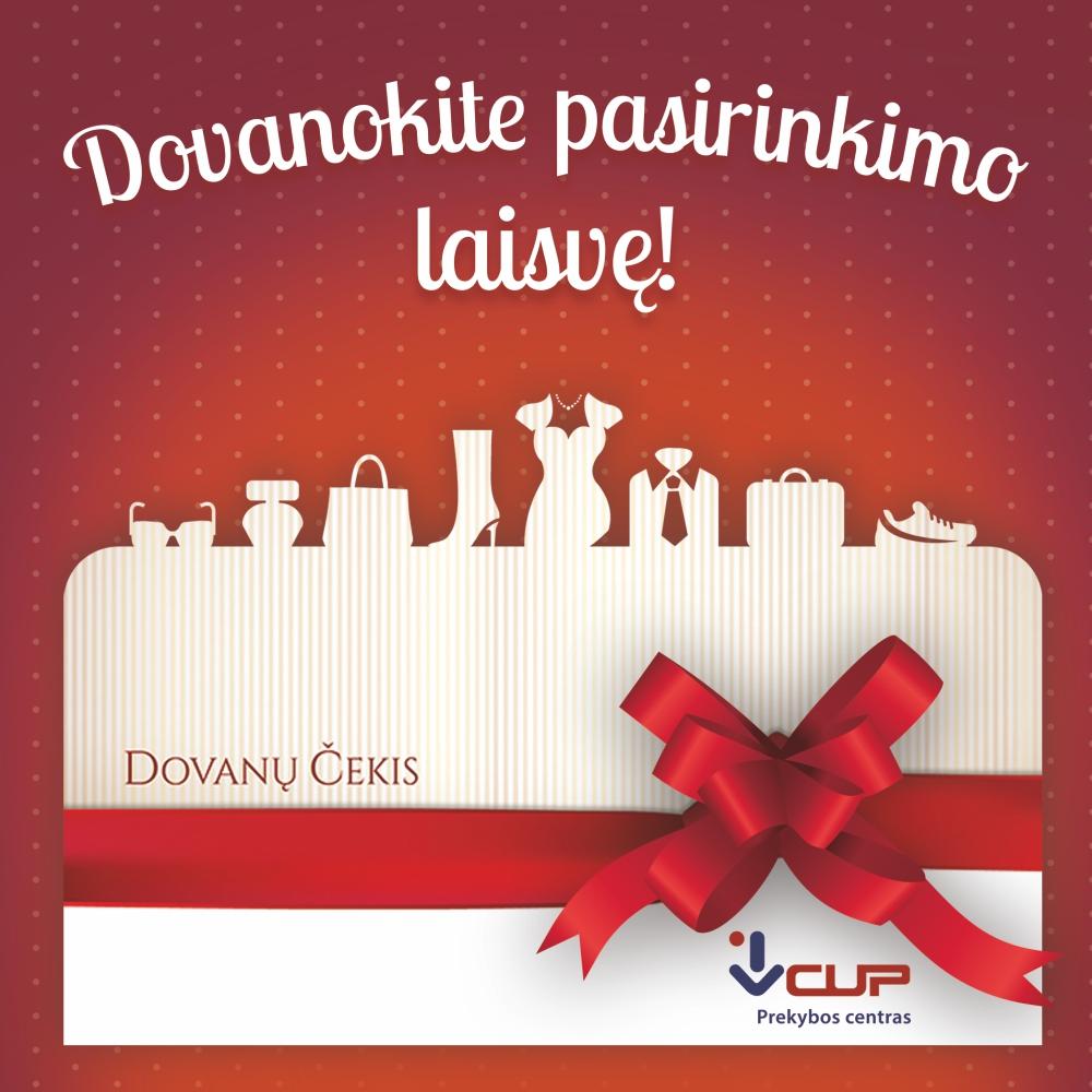 Prekybos centras VCUP_Dovanu cekis