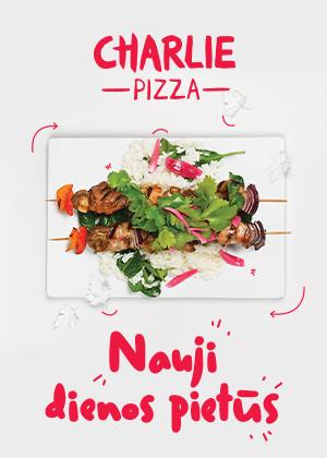 Prekybos centras VCUP_Naujie dienos pietus_Charlie pizza