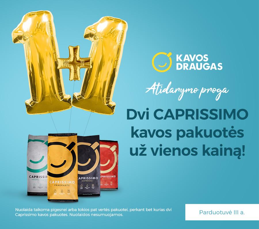 Prekybos centras VCUP_Kavos_draugas_akcija_