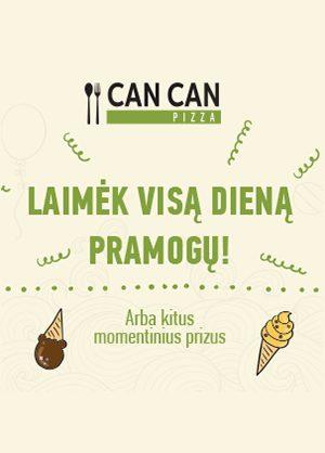 Prekybos centras VCUP_Can Can_zaidimas