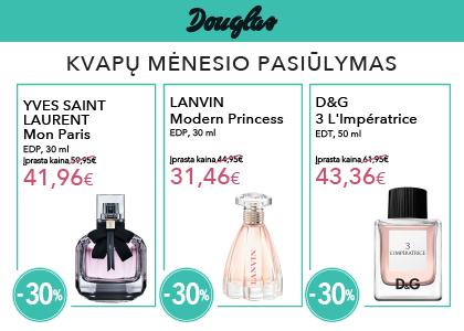 Prekybos centras VCUP_DOUGLAS_mėnesio_pasiūlymas
