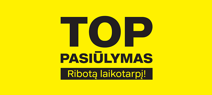 Prekybos centras VCUP_Deichmann_TOP pasiulymas
